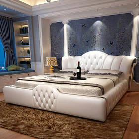 Кровать Дизайнерская Под Заказ Элегия-41 (Мебель-Плюс TM)