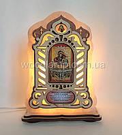 Соляной светильник Икона большая