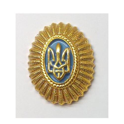 Кокарда офицерская (золотистая)