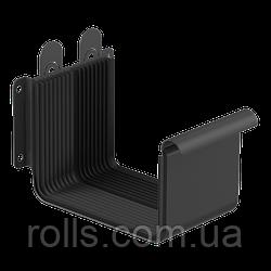 Соединитель желоба с кронштейном 125/80, цвет Графит RAL7015 Galeco Stal 2 Муфта желоба компенсатор расширения