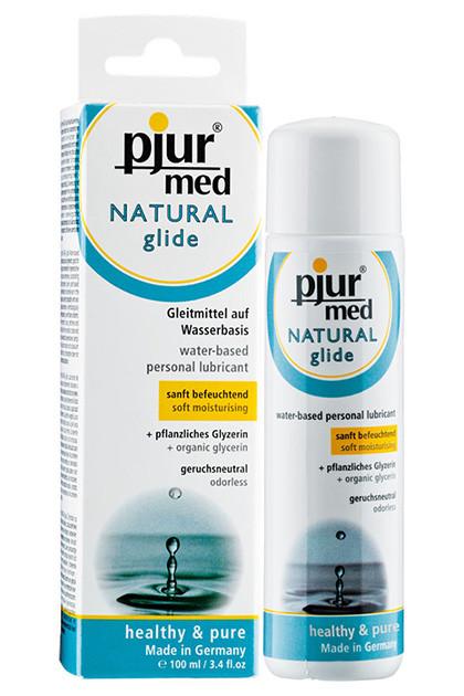 Нейтральный лубрикант на водной основе Pjur MED Natural Glide 100 ml