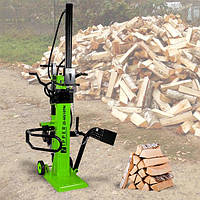 ✅Дровокол гидравлический Zipper ZI-HS10TN, электроколун для дома и дачи, электрический колун для дров