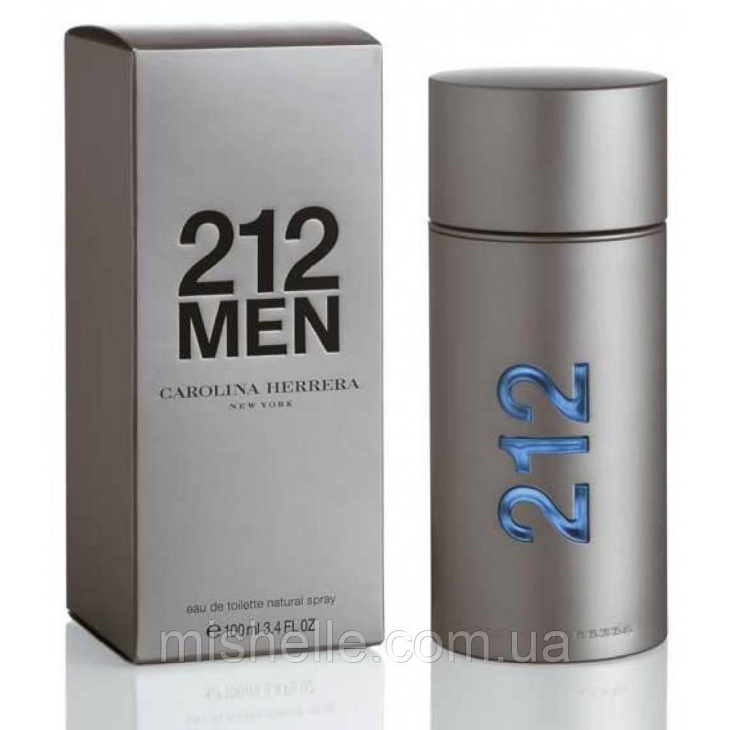 Мужская туалетная вода Carolina Herrera 212 Men (Каролина Эррера 212 Мен) оригинальное качество
