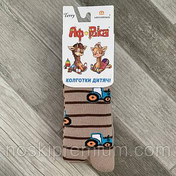 Колготки детские махровые х/б Африка, Мисюренко, 16 размер, 98-104 см, 3-4 года, 07151