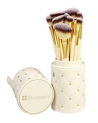 Кисти для макияжа в тубусе BH Cosmetics Studded Couture Brush Set, 12 шт