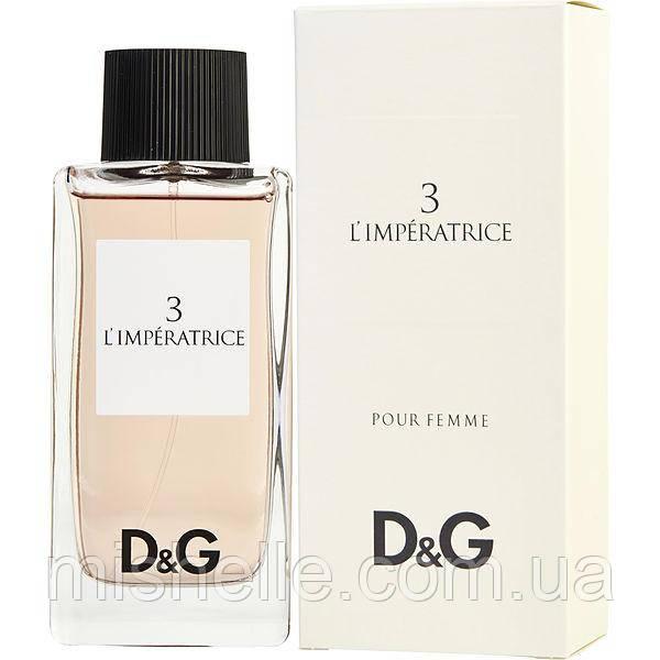 Женский парфюм Dolce & Gabbana 3 L`Imperatrice (Дольче  Габбана Императрица) оригинальное качество