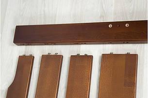 Кровать Ольга 0,9 м. (ассортимент цветов) (Бук), фото 2