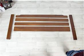 Кровать Ольга 0,9 м. (ассортимент цветов) (Бук), фото 3