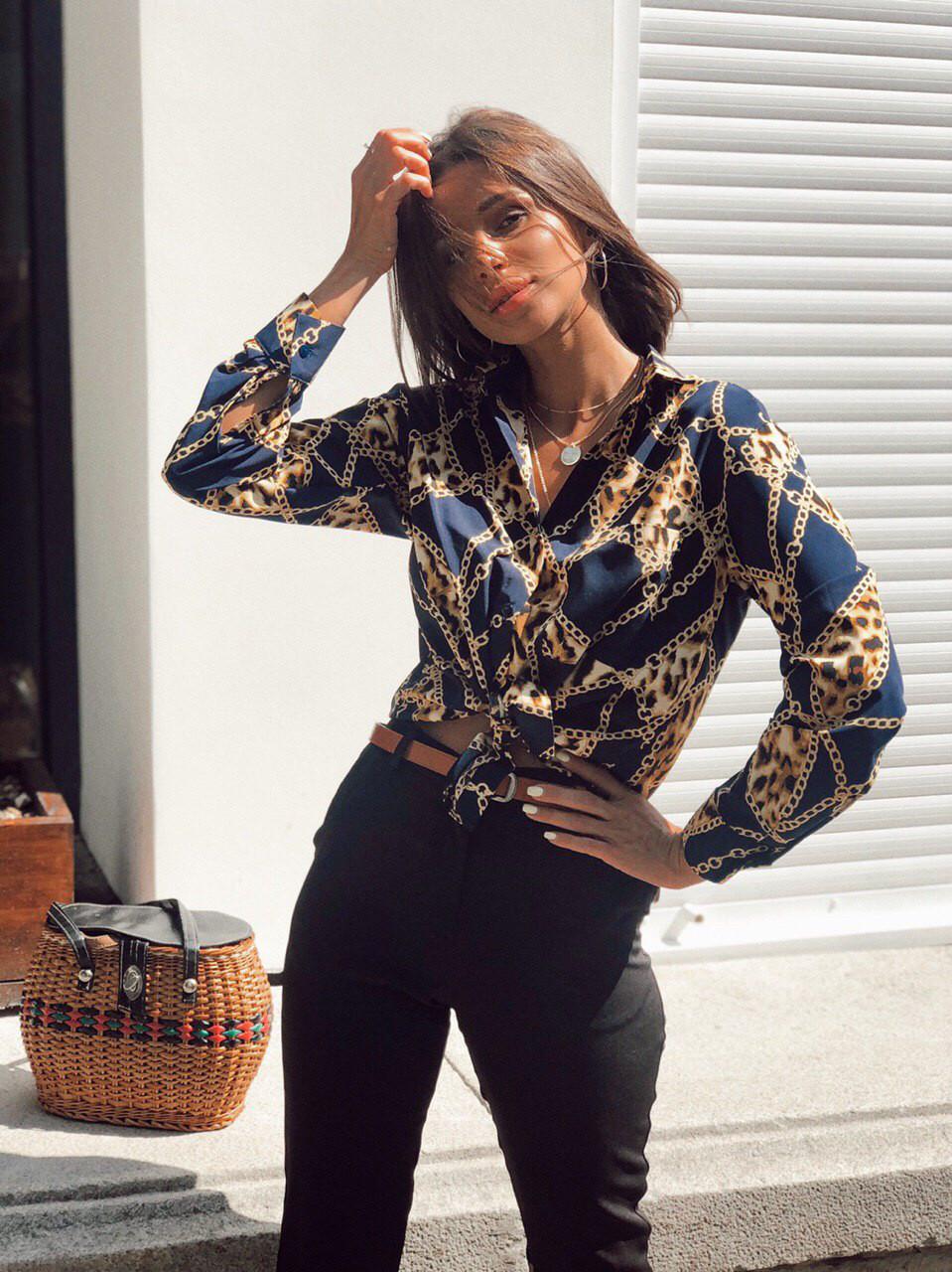 Рубашка стильная женская