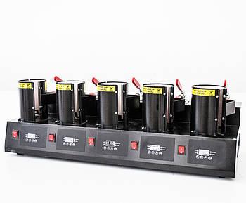 Термопресс для печати на 5 чашках