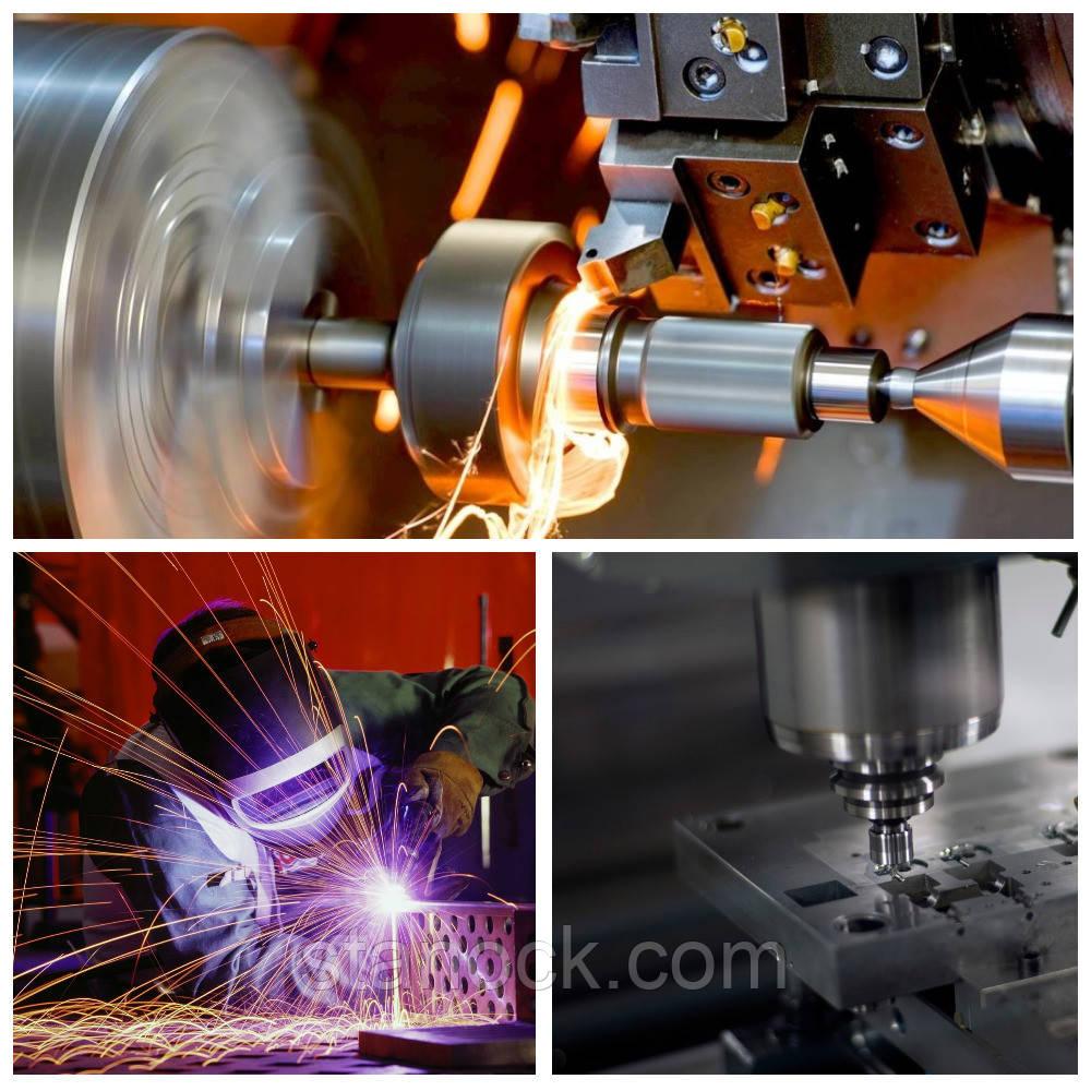 Токарно - фрезерная металлообработка и серийное производство деталей на заказ.
