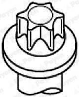 Болт головки цилиндра BGA BK3339 на Ford Fusion / Форд Фьюжн
