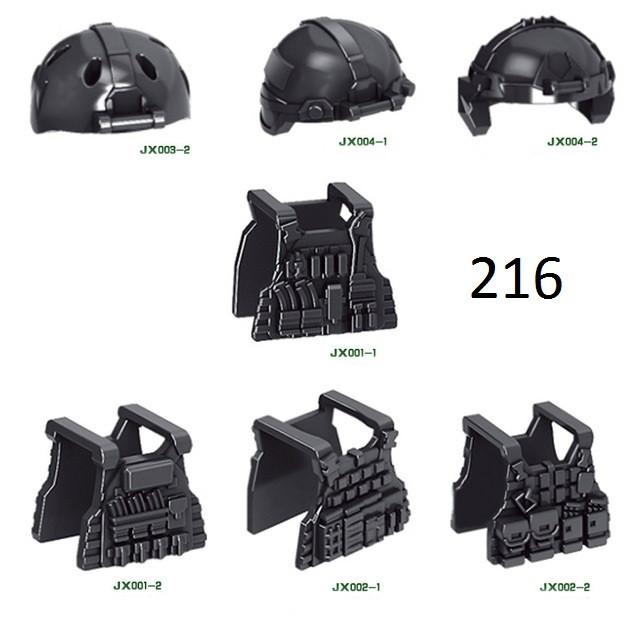 Оружие для минифигурок Lego Лего Шлемы,бронежилеты,каски