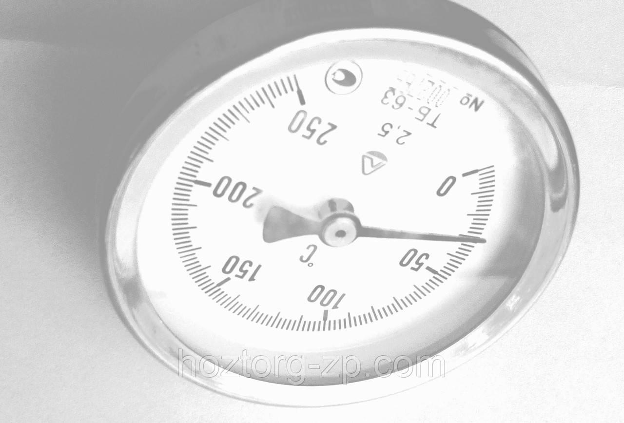 Термометр биметаллический ТБ-63-50 0+250  град.