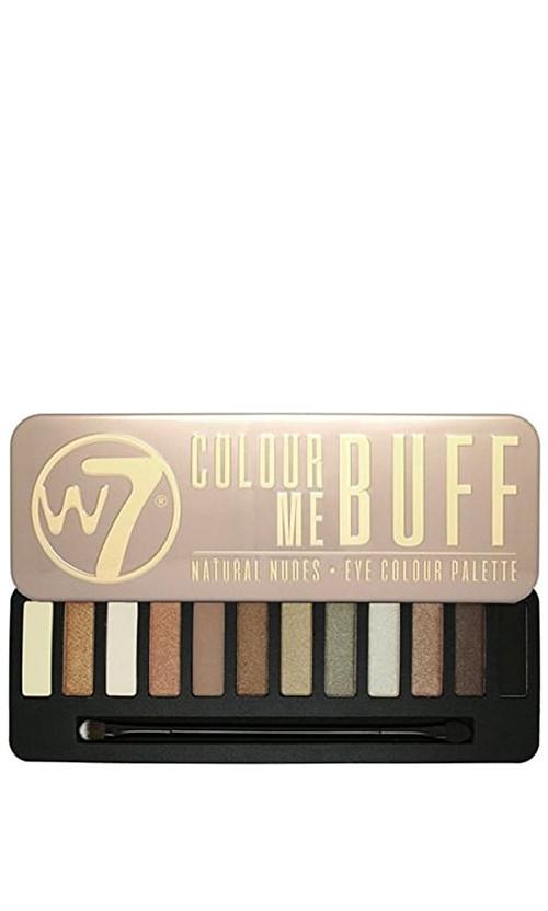 W7 Natural Nudes Eye Colour Palette Палетка теней Buff 15 мл Код 20472