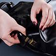 """Рюкзак мужской кожаный ручной работы """"Trip"""", фото 5"""