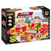 Детский игровой набор Пожарная бригада Play Track City Wader (53510)