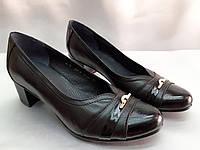 Классические кожаные комфортные туфли Romax, фото 1