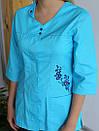 """Жіночий медичний костюм """"Колібрі"""", фото 2"""