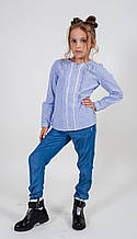 Детские брюки для девочки Melby Италия 13531566 Синий