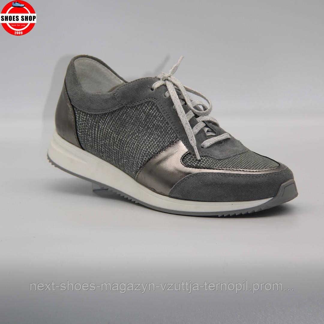 Жіночі кросівки Coutes (Польща) сірого кольору. Красиві та зручні. Стиль: Марія Шарапова