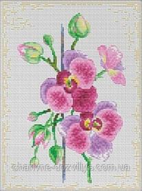 """Набор для вышивания крестиком """"Цветки орхидеи"""""""