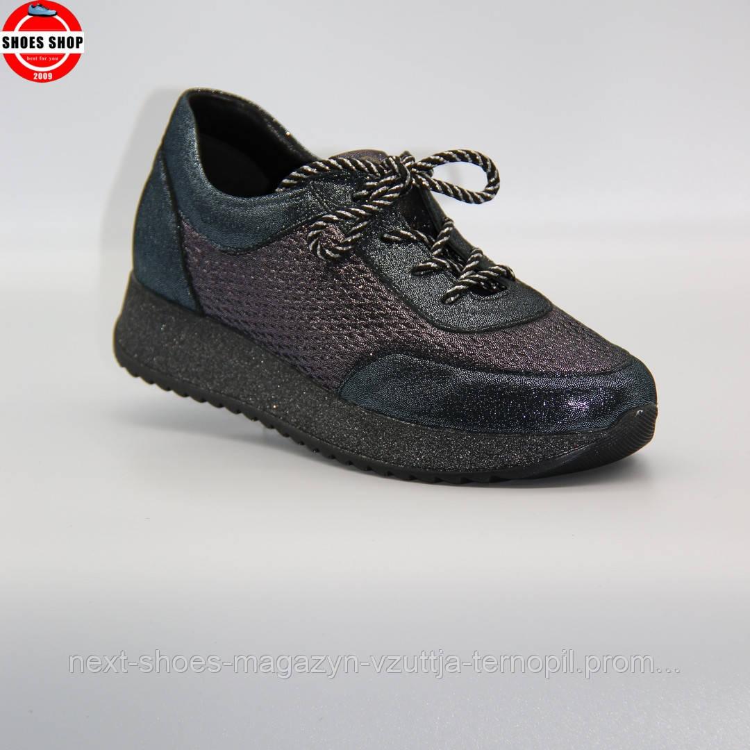Жіночі кросівки Gloria (Україна) чорного кольору. Дуже красиві та комфортні. Стиль: Марія Шарапова