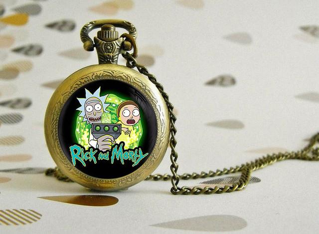 Карманные часы Рик и Морти / Rick and Morty