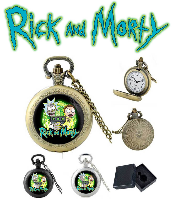 Карманные часы Rick and Morty Рик и Морти / Rick and Morty