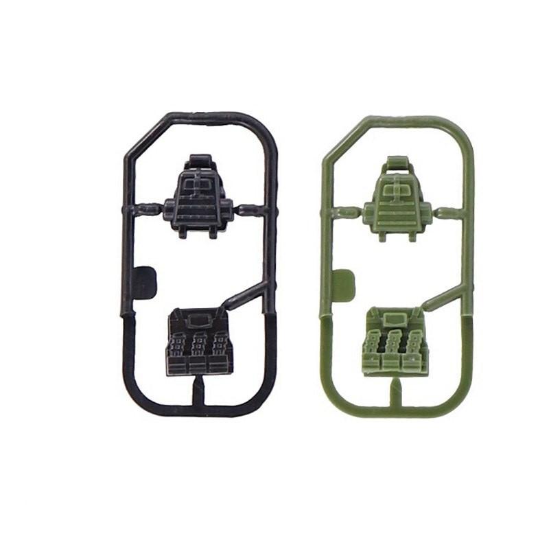 Оружие для минифигурок Lego Лего  портфель,рюкзак,бронежилет