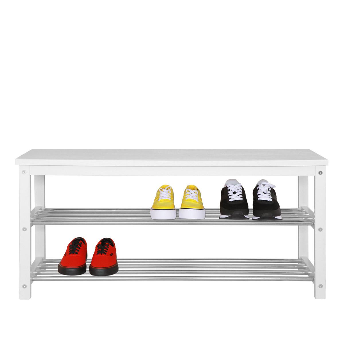 """Банкетка с полками для обуви """"NVD-04"""""""