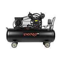 Компрессор ременной, 100 литров, двухпоршневой Дніпро-М (AC-100 VG)