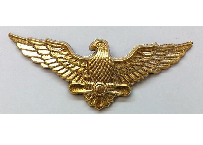 Эмблема на тулью ВВС (золотистая)