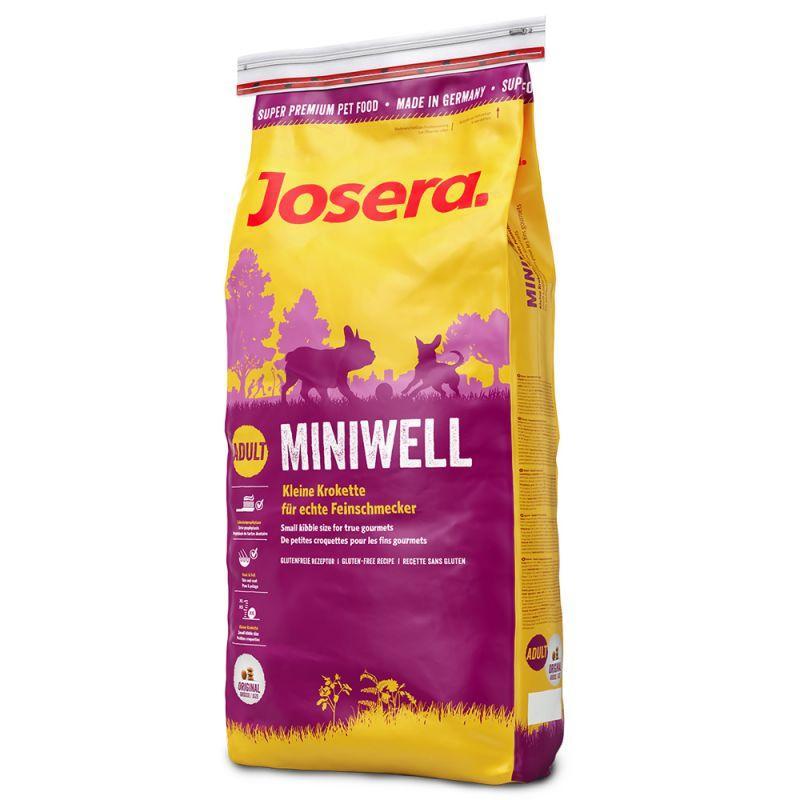 Сухой корм для взрослых собак мелких пород Josera Miniwell 15 кг