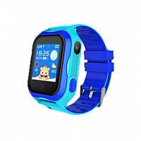 Детские Смарт часы с GPS A32W Синий (Smart Watch) Умные часы, фото 1