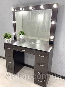 Гримерный столик с зеркалом и подсветкой V505