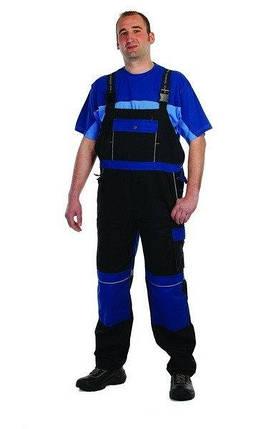 Полукомбинезон хлопок Stanmore рабочий Темно-синий с синим, фото 2