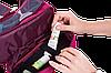 Дорожный органайзер для косметики с крючком ORGANIZE (винный), фото 4