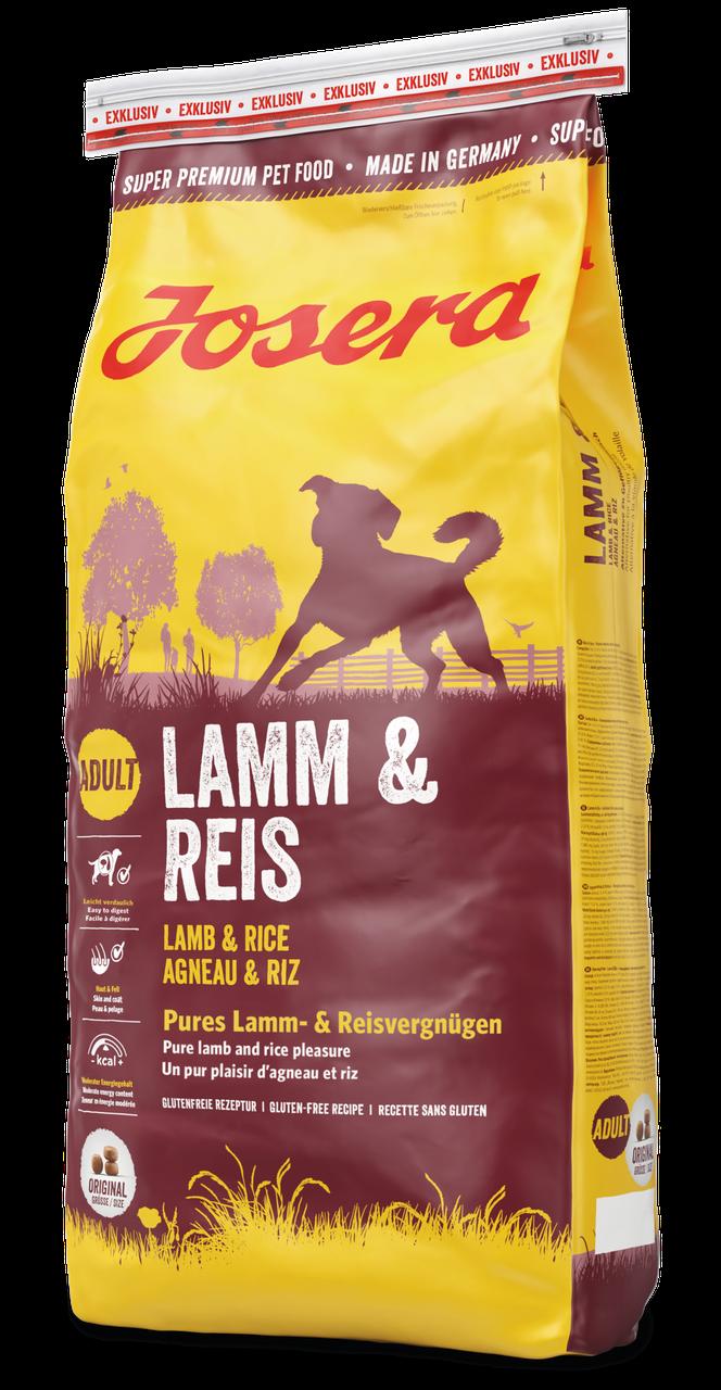 Сухой корм с ягненком для собак Josera Lamb & Rice 15 кг
