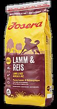 Сухий корм з ягням для собак Josera Lamb & Rice 15 кг