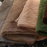 Одеяло покрывало травка с наполнителем холлофайбер меховое с длинным ворсом 210*230, фото 2