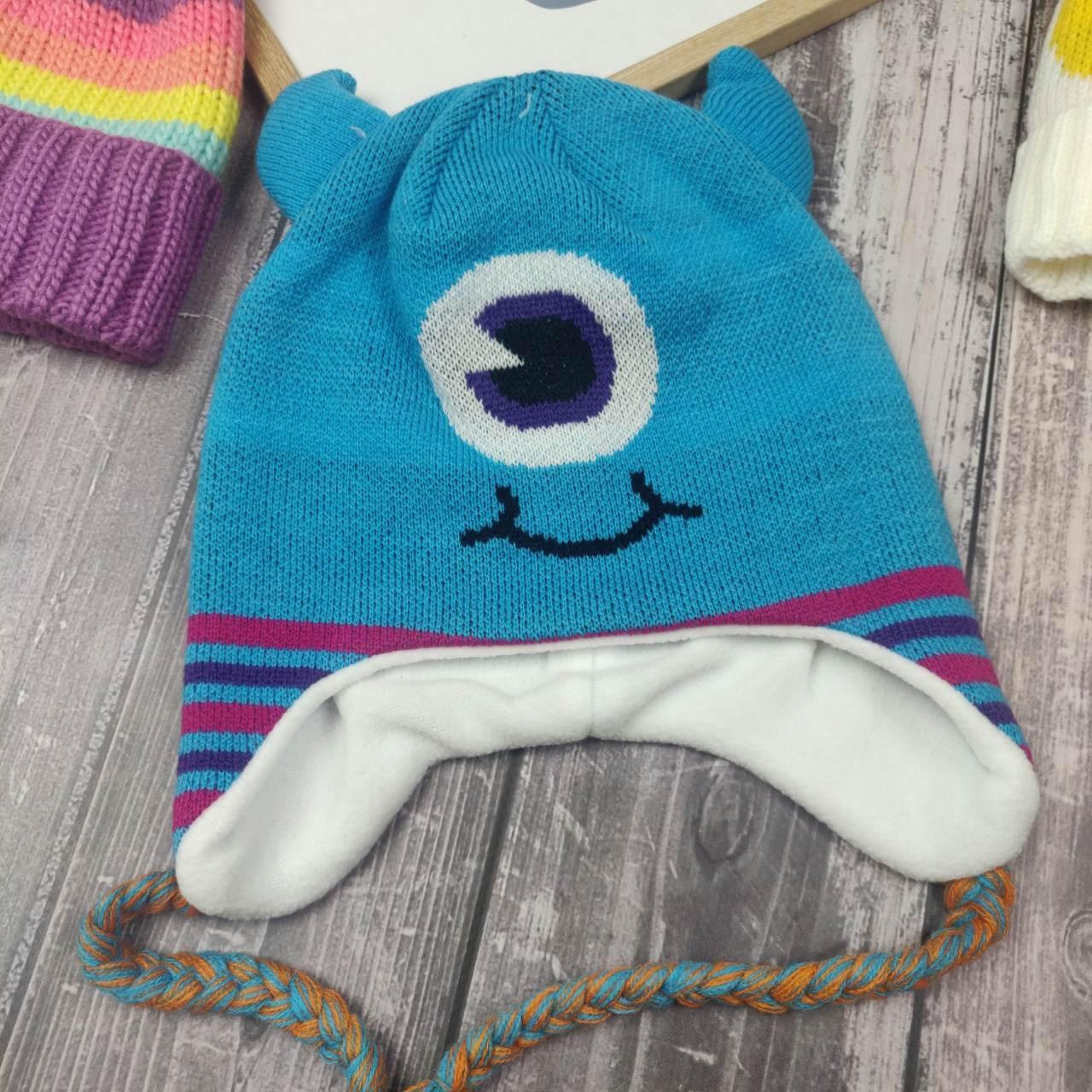 Детская шапка  Монстрик