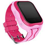 Детские Смарт часы с GPS A32W Розовый  (Smart Watch) Умные часы, фото 3