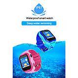 Детские Смарт часы с GPS A32W Синий (Smart Watch) Умные часы, фото 5
