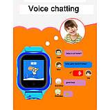 Детские Смарт часы с GPS A32W Синий (Smart Watch) Умные часы, фото 6