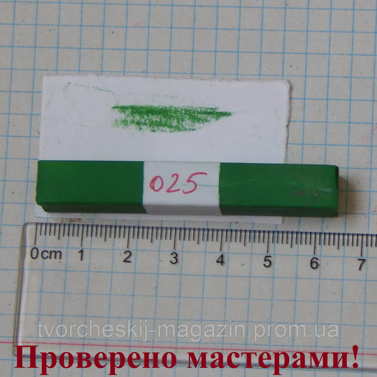 Пастель сухая мягкая MUNGYO травяная зеленая 025