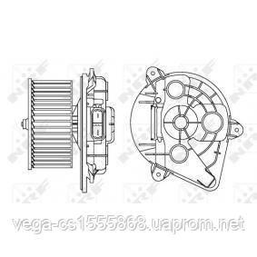 Вентилятор салона NRF 34156 на Opel Vivaro / Опель Виваро