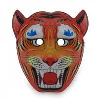 Маска Детская Тигр (уп. 12шт) пластик