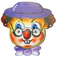 Маска Клоун картон (уп. 6шт)