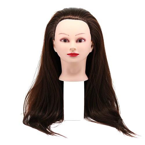 Голова для причесок с искусственными термо волосами Гофре 4L